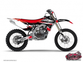 Kit Déco Moto Cross Pulsar Yamaha 250 YZ UFO Rouge