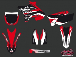 Kit Déco Moto Cross Pulsar Yamaha 125 YZ UFO Relift Rouge