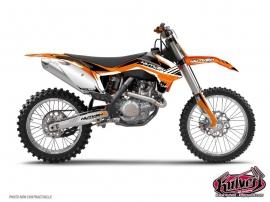 KTM EXC-EXCF Dirt Bike Pulsar Graphic Kit Black
