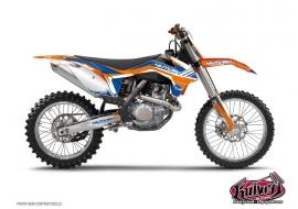 Kit Déco Moto Cross Pulsar KTM 65 SX Bleu