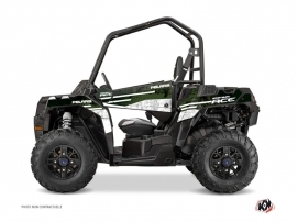 Polaris ACE 325-570-900 UTV Raider Graphic Kit Green