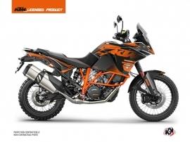 KTM 1190 Adventure R Street Bike Raster Graphic Kit Black Orange