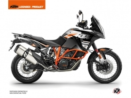 KTM 1290 Super Adventure R Street Bike Raster Graphic Kit Black White