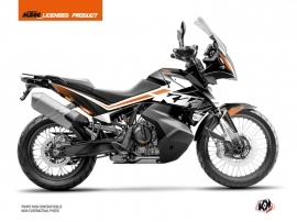 KTM 790 Adventure Street Bike Raster Graphic Kit Black White