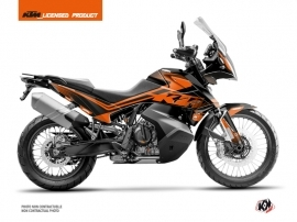 KTM 790 Adventure Street Bike Raster Graphic Kit Black Orange