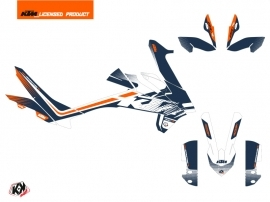 KTM 890 Adventure R Street Bike Raster Graphic Kit Blue Orange