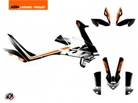 Kit Déco Moto Raster KTM 890 Adventure R Noir Blanc