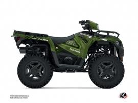 Polaris 450 Sportsman ATV Redrock Graphic Kit Green