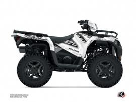 Polaris 570 Sportsman ATV Redrock Graphic Kit White