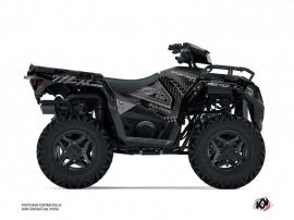 Polaris 570 Sportsman ATV Redrock Graphic Kit Black