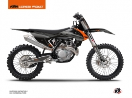 KTM 150 SX Dirt Bike Reflex Graphic Kit Black