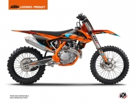 Kit Déco Moto Cross Reflex KTM 150 SX Orange