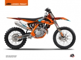 KTM 250 SX Dirt Bike Reflex Graphic Kit Orange