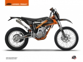 Kit Déco Moto Cross Reflex KTM 350 FREERIDE Noir