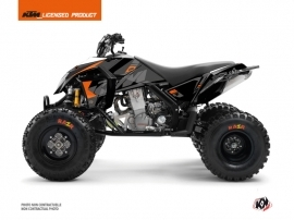 KTM 450-525 SX ATV Reflex Graphic Kit Black
