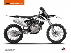 KTM 450 SXF Dirt Bike Reflex Graphic Kit White