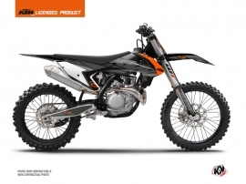 KTM 450 SXF Dirt Bike Reflex Graphic Kit Black