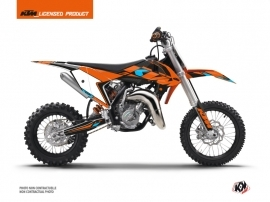 KTM 50 SX Dirt Bike Reflex Graphic Kit Orange