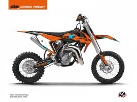 Kit Déco Moto Cross Reflex KTM 50 SX Orange