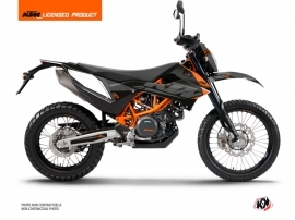 KTM 690 ENDURO R Dirt Bike Reflex Graphic Kit Black