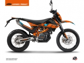 KTM 690 ENDURO R Dirt Bike Reflex Graphic Kit Orange