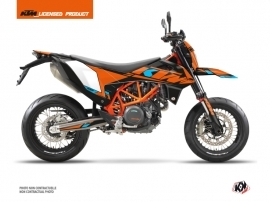 KTM 690 SMC R Street Bike Reflex Graphic Kit Orange