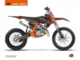 KTM 85 SX Dirt Bike Reflex Graphic Kit Black
