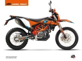 KTM 690 ENDURO R Street Bike Reflex Graphic Kit Orange