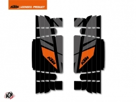 Kit Deco Radiator guards Reflex KTM EXC-EXCF 2017 Black