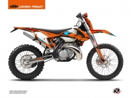 Kit Déco Moto Cross Reflex KTM EXC-EXCF Orange