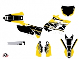 Yamaha 125 YZ Dirt Bike Replica Graphic Kit Yellow