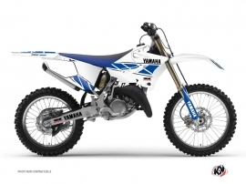 Kit Déco Moto Cross Replica Yamaha 250 YZ Blanc Bleu