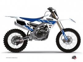 Kit Déco Moto Cross Replica Yamaha 250 YZF Blanc Bleu