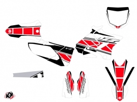 Yamaha 250 YZ Dirt Bike Replica Graphic Kit Red