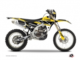 Kit Déco Moto Cross Replica Yamaha 450 WRF Jaune