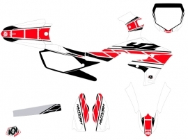 Yamaha 450 YZF Dirt Bike Replica Graphic Kit Red