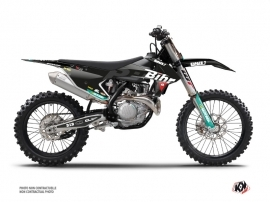 KTM 450 SXF Dirt Bike Replica Bihr Graphic Kit