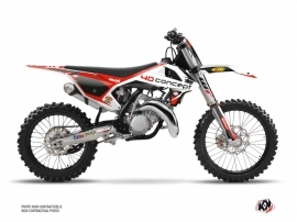 KTM 125 SX Dirt Bike Replica BOS Graphic Kit