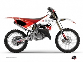 Yamaha 125 YZ Dirt Bike Replica BOS Graphic Kit