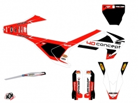 Kit Déco Moto Cross Replica BOS Husqvarna 250 FC