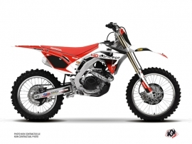 Honda 250 CRF Dirt Bike Replica BOS Graphic Kit