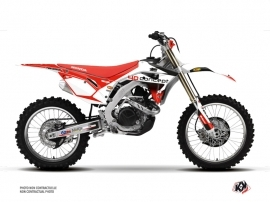 Honda 450 CRF Dirt Bike Replica BOS Graphic Kit