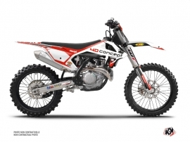 KTM 450 SXF Dirt Bike Replica BOS Graphic Kit