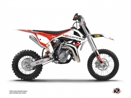 KTM 50 SX Dirt Bike Replica BOS Graphic Kit