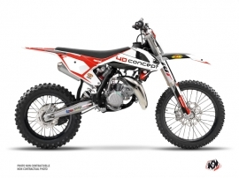 KTM 85 SX Dirt Bike Replica BOS Graphic Kit