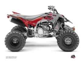 Kit Déco Quad Replica By Rapport K20 Yamaha 450 YFZ R Gris Rouge