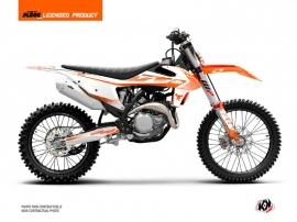 KTM 150 SX Dirt Bike Replica Thomas Corsi 2020 Graphic Kit Orange