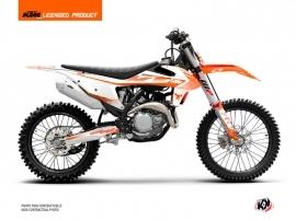 KTM 250 SXF Dirt Bike Replica Thomas Corsi 2020 Graphic Kit Orange
