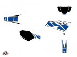 Yamaha DT 50 50cc Replica Graphic Kit White Blue