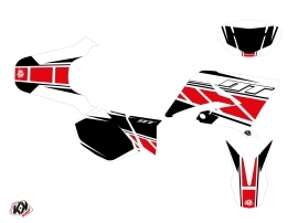 Yamaha DT 50 50cc Replica Graphic Kit Red
